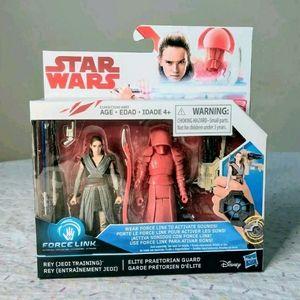 Hasbro Star Wars Force Link Rey & Praetorian Guard